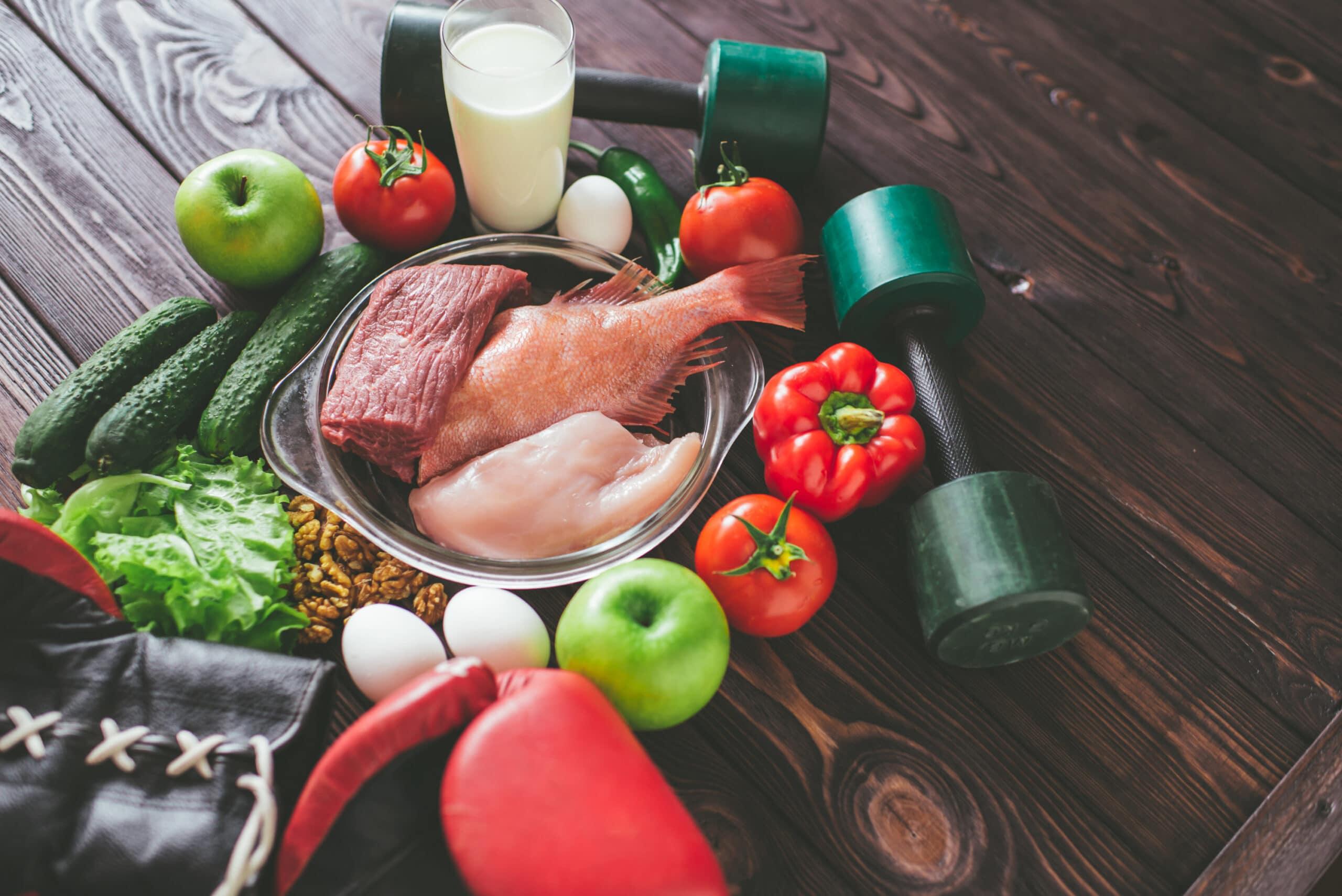 Nutrición para aumentar de peso